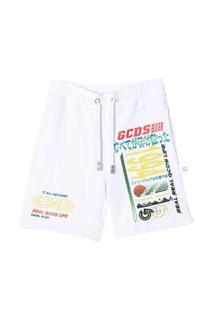 Shorts bianchi GCDS kids teen GCDS KIDS | 30 | 022577001T