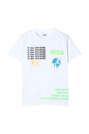 White t-shirt GCDS kids  GCDS KIDS | 8 | 022586001