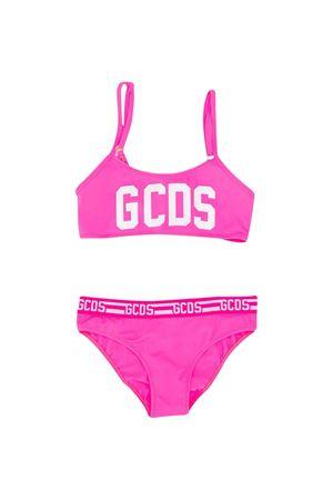 Fuchsia bikini with frontal logo GCDS kids GCDS KIDS | 85 | 022620134