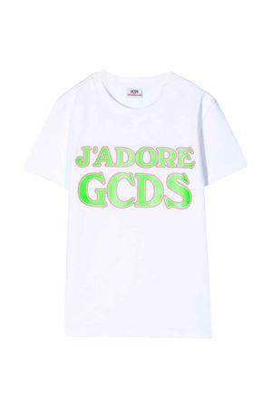 White t-shirt GCDS kids teen  GCDS KIDS | 8 | 022707001T