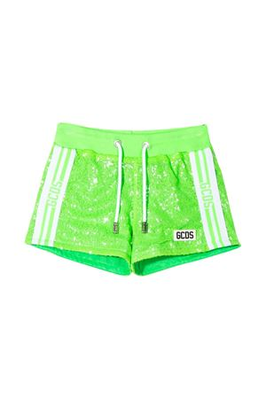 Shorts verde fluo teen GCDS kids  GCDS KIDS | 30 | 022711169T