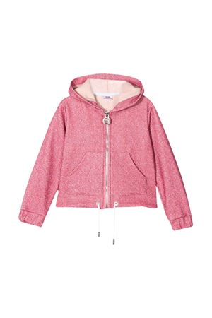 Pink teen jacket with hood GCDS kids GCDS KIDS | 3 | 022735042T