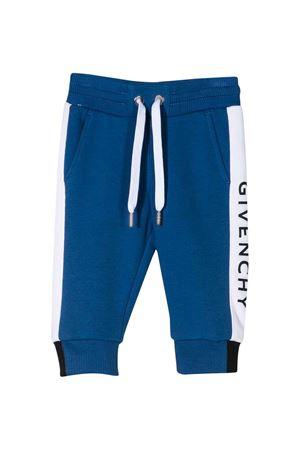 Pantaloni blu Givenchy kids Givenchy Kids | 9 | H0406581F