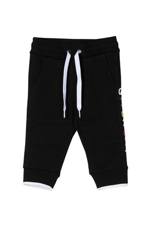 Pantalone nero con stampa multicolor Givenchy kids Givenchy Kids | 9 | H0406609B