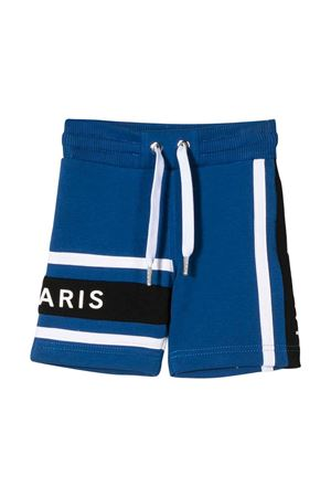 Blue and white bermuda shorts with logo Givenchy kids Givenchy Kids | 5 | H0406981F