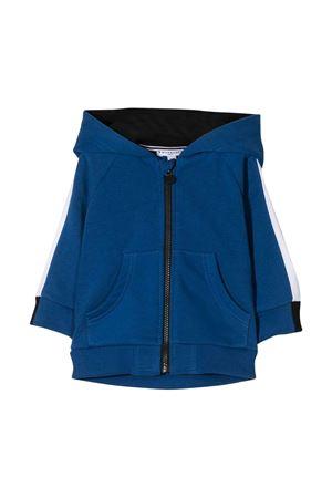 Felpa baby blu con cappuccio e zip Givenchy kids Givenchy Kids | -108764232 | H0510981F