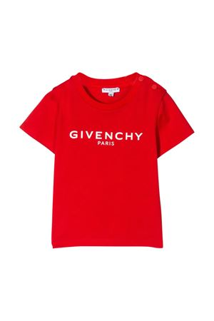 T-shirt rossa Givenchy kids Givenchy Kids | 8 | H05116991