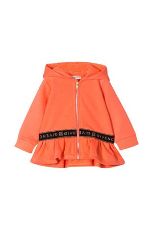 Apricot sweatshirt with hood Givenchy kids Givenchy Kids | -108764232 | H05127430