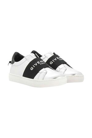 White and black sneakers with logo Givenchy kids Givenchy Kids | 12 | H09013079