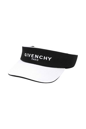 Visiera con stampa Givenchy kids Givenchy Kids   75988881   H11005M41