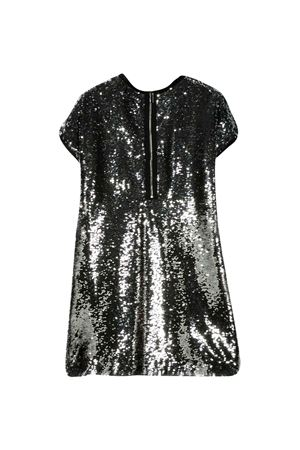 Silver flared dress with sequins Givenchy kids Givenchy Kids | 11 | H12120016