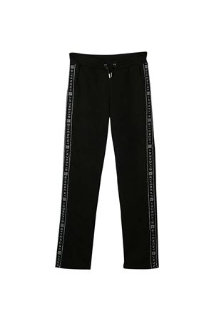 Black trouser with side logo band Givenchy kids Givenchy Kids | 9 | H1408209B