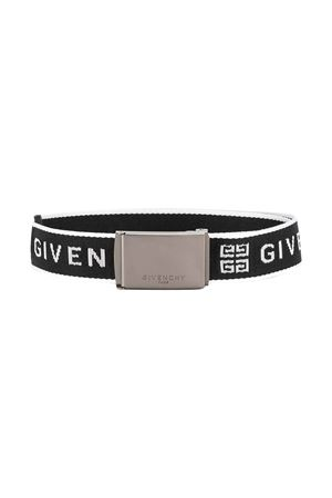 Cintura nera Givenchy kids teen Givenchy Kids | 22 | H20024M41T