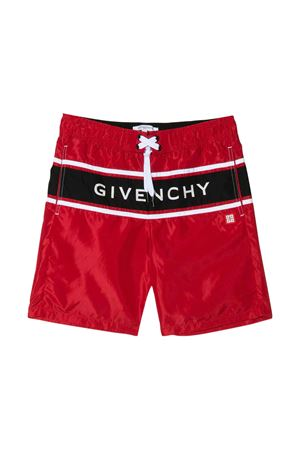Red swimsuit Givenchy kids teen  Givenchy Kids | 85 | H20028991T