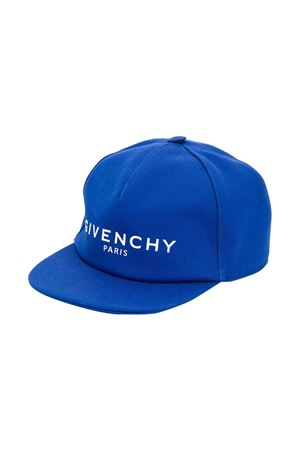 Cappello blu Givenchy kids Givenchy Kids | 75988881 | H2103181F