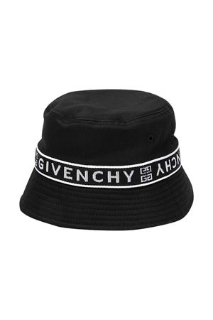 Cappello bucket con stampa Givenchy kids Givenchy Kids   75988881   H2103309B