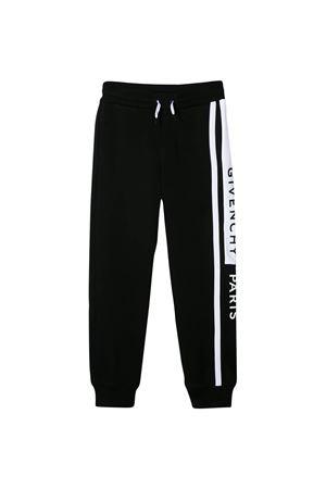 Pantalone nero con banda laterale bianca Givenchy kids Givenchy Kids | 9 | H2407509B