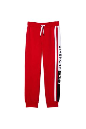 Red trousers Givenchy kids  Givenchy Kids | 9 | H24075991