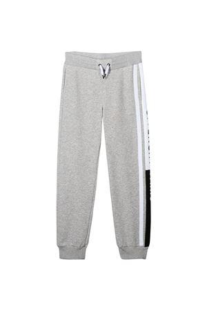 Pantalone grigio con banda laterale bianca Givenchy kids Givenchy Kids | 9 | H24075A01T
