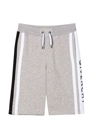 Gray bermudas Givenchy kids teen  Givenchy Kids | 5 | H24079A01T
