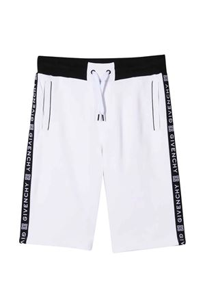 White teen bermuda shorts Givenchy kids Givenchy Kids | 30 | H2408010BT