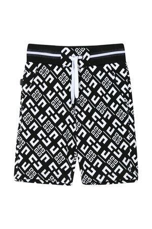 Black bermudas Givenchy kids teen  Givenchy Kids | 5 | H24081M41T