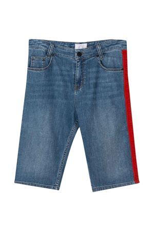Teen jeans with red side bands Givenchy kids Givenchy Kids | 30 | H24083Z06T