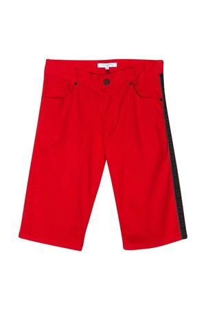 Red teen bermuda shorts with logo Givenchy kids Givenchy Kids | 30 | H24084991T