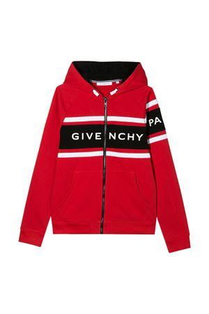 Felpa rossa Givenchy kids Givenchy Kids | 5032280 | H25158991