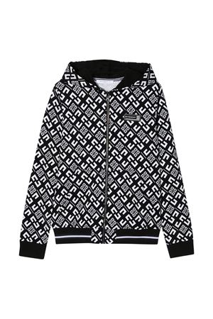 Felpa nera Givenchy kids Givenchy Kids | 5032280 | H25159M41
