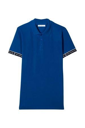 Blue polo shirt Givenchy kids teen Givenchy Kids | 2 | H2516481FT