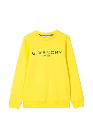 Yellow sweatshirt Givenchy kids teen  Givenchy Kids | -108764232 | H25167535T