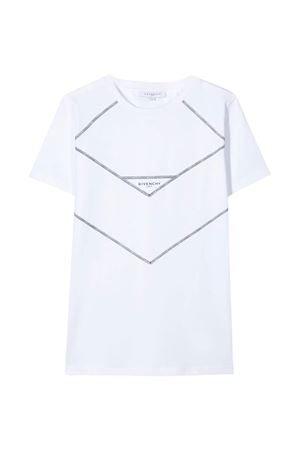 White t-shirt with press Givenchy kids Givenchy Kids | 8 | H2517810B