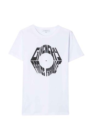White t-shirt Givenchy kids teen  Givenchy Kids | 8 | H2518110BT