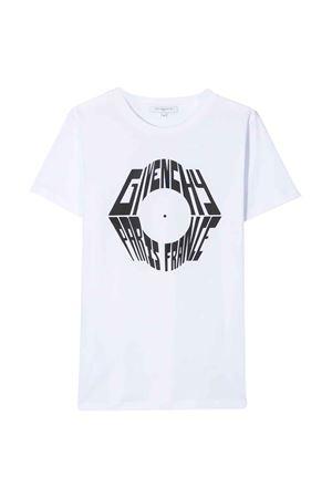 T-shirt bianca Givenchy kids teen Givenchy Kids | 8 | H2518110BT