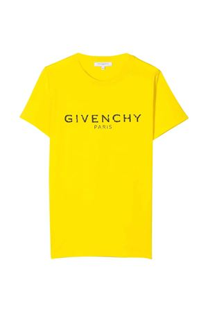 Yellow t-shirt Givenchy kids teen  Givenchy Kids | 8 | H25H47535T