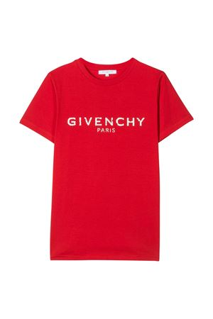 T-shirt rossa Givenchy kids Givenchy Kids | 8 | H25H47991