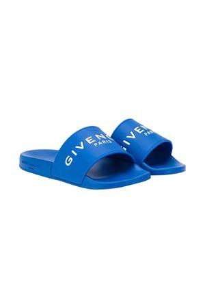 Ciabatte blu Givenchy kids Givenchy Kids | 12 | H2902881F