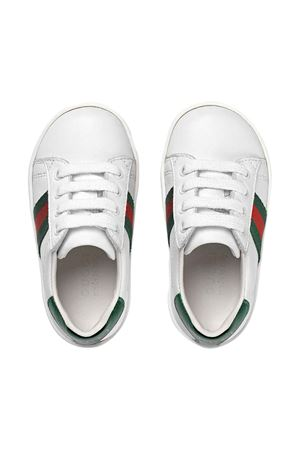 White sneakers Gucci kids GUCCI KIDS | 12 | 433146CPWE09075