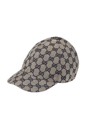 Cappello da baseball blu Gucci kids GUCCI KIDS | 75988881 | 4817743HC652168