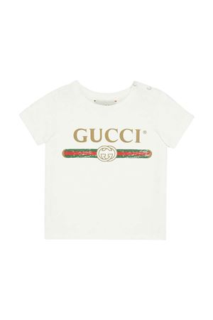 Gucci kids ivory T-shirt GUCCI KIDS | 8 | 504121X3L649112