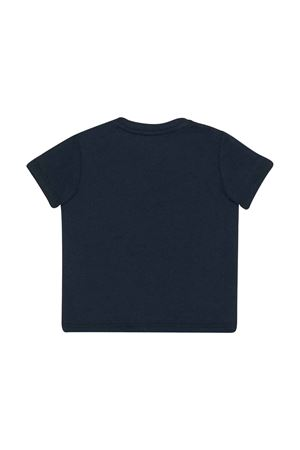 Blue t-shirt with frontal logo Gucci kids GUCCI KIDS | 8 | 548034XJBCG4585