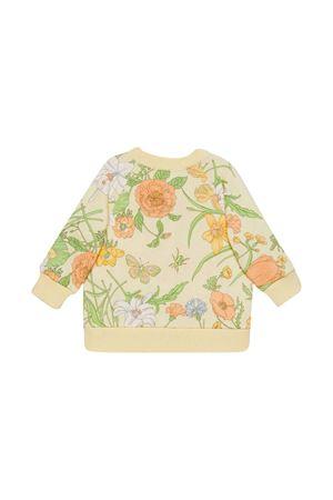 White cardigan with floreal press Gucci kids GUCCI KIDS | 39 | 575181XJB829769