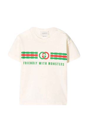 T-shirt with frontal logo press Gucci kids GUCCI KIDS | 8 | 576871XJB5B9689