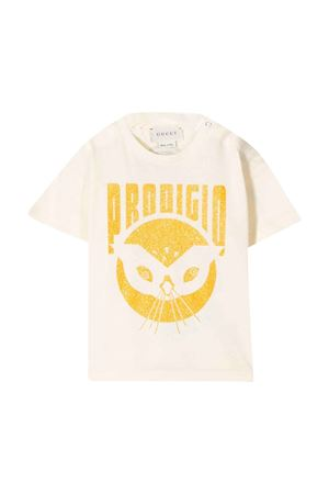 White t-shirt with frontal press Gucci kids GUCCI KIDS | 8 | 581019XJCAI7261