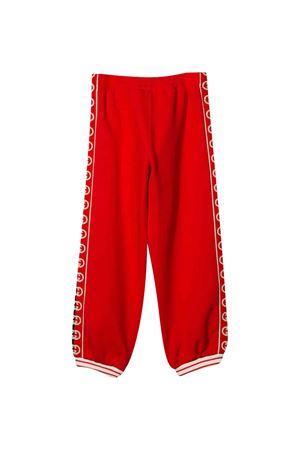Pantalone rosso con striscia laterale logata Gucci Kids GUCCI KIDS | 9 | 591494XJB4G6133