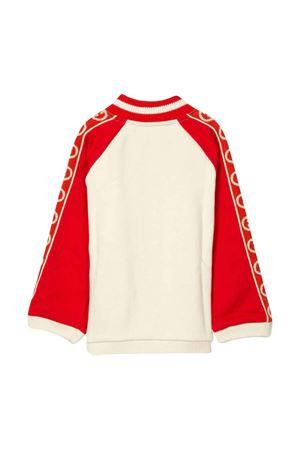 Felpa rossa e bianca GG Gucci kids GUCCI KIDS | -108764232 | 591506XJB4G9373