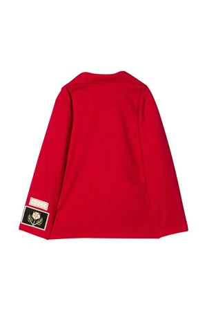 Red double-breasted jacket Gucci kids GUCCI KIDS | 3 | 591568XWAHC6620