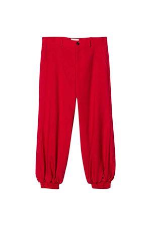 Red comfortable-cut trousers Gucci kids GUCCI KIDS | 9 | 591569XWAHE6620