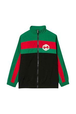 Giacca multicolor con logo Gucci kids GUCCI KIDS | 3 | 591618XWAGU1043